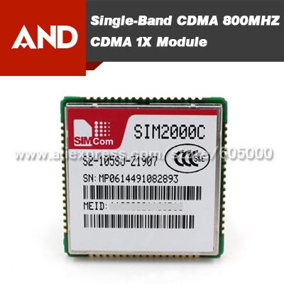 Free shipping small and cost-effective CDMA module,SIM2000C,SIM2000C module(China (Mainland))