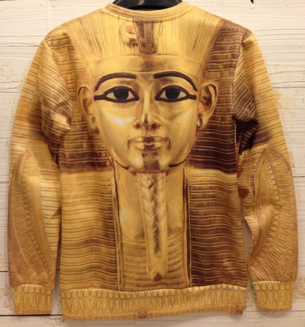 Мужская 3D топы черепа / цветок / пистолет / акула / фараон отпечатано толстовки свободного покроя марка человек толстовка 2016 зима высокое качество пальто