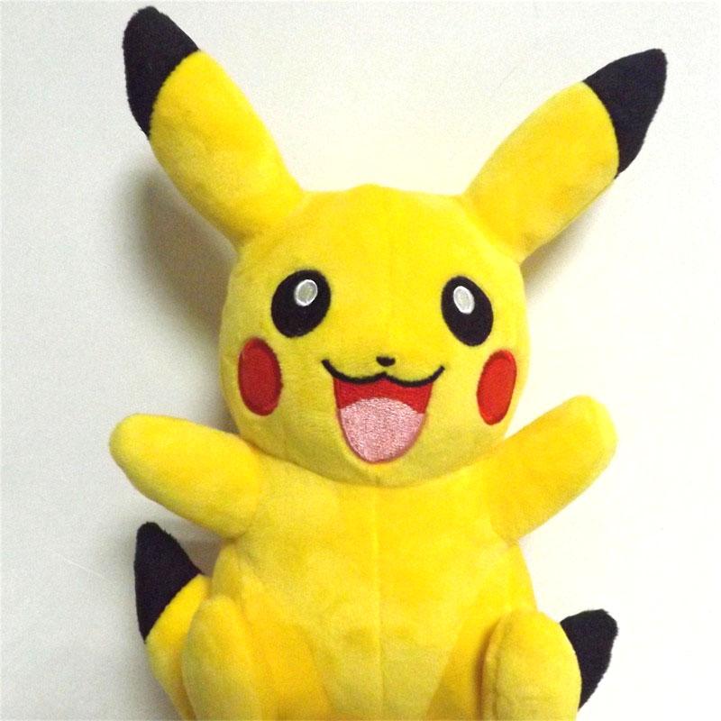 Пикачу Плюшевые Игрушки для Детей 22 см Игрушки Покемон Pocket Monster Pokemon ИДТИ Пикачу Фаршированные Плюшевые