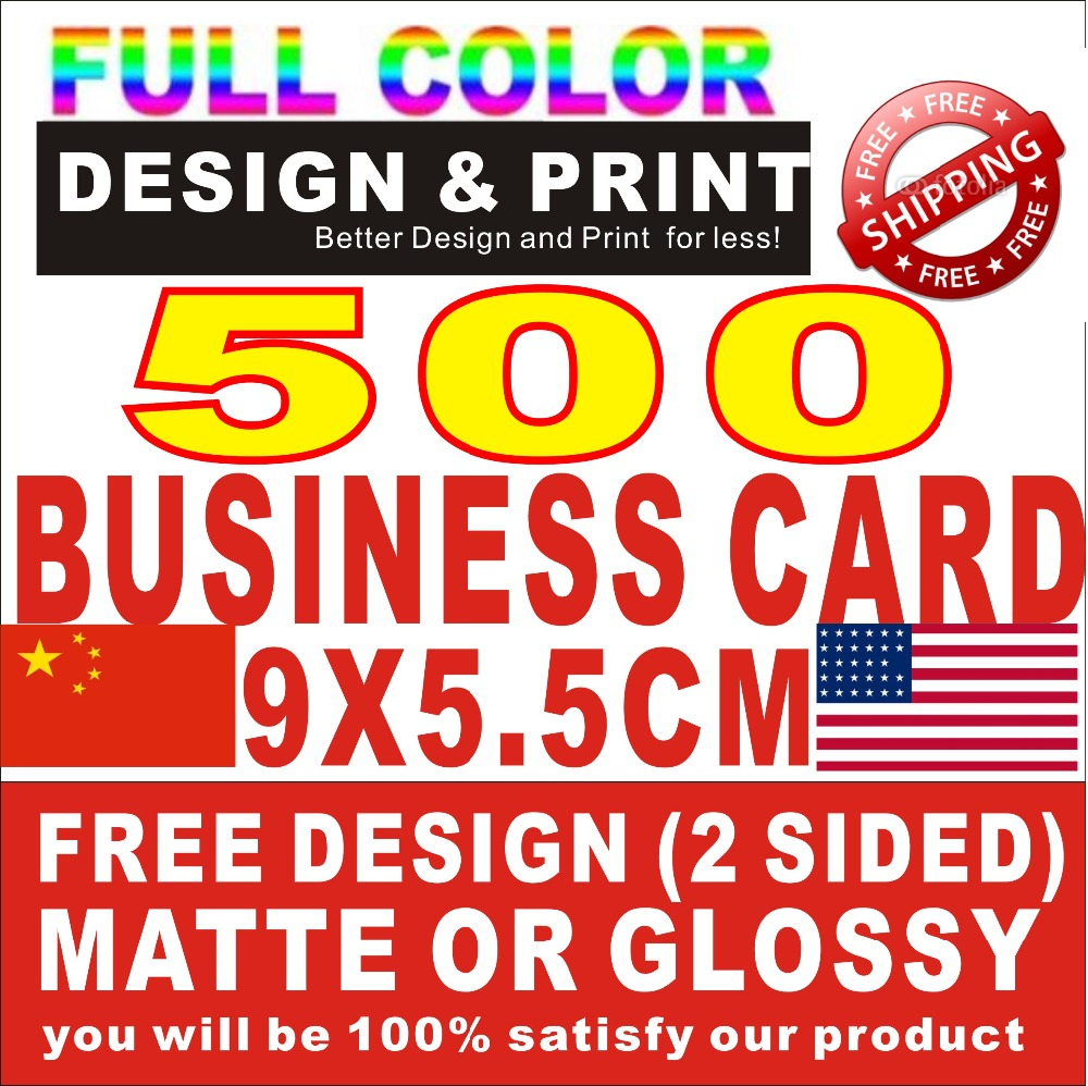 Color printing bu - 500pcs Bu Siness Cards 300gsm 2sided Print Free Design Only Need 25usd Custom Bus Iness Card Printing