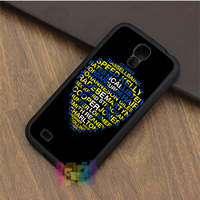 Leeds United Best Players Badge back fashion phone case for samsung galaxy S3 S4 S5 S6 Note 2 Note 3 Note 4 #LI5865