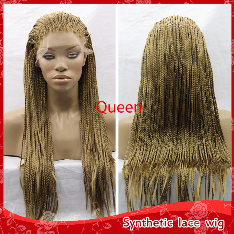 Box Braids Hair Crochet 10 Crochet Hair Synthetic Front Lace ...