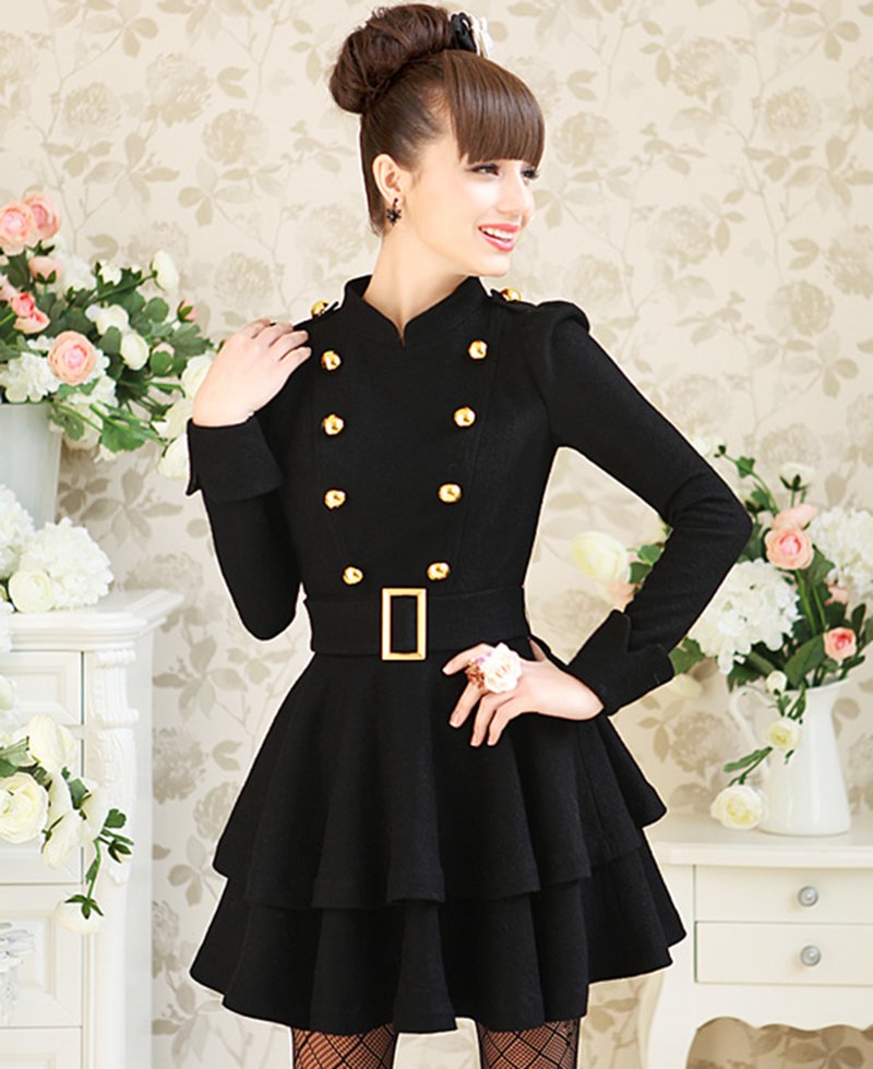 Black womens dress coats – Dress online uk