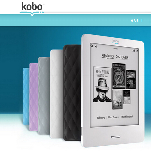 Kobo Touch N905 e books Reader 6'' inch e-ink 2GB WIFI ink eBooks Reader, better than kindle(China (Mainland))