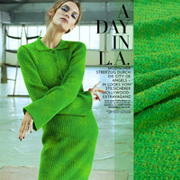 The golden season Knitting wool yarn woollen cloth dress casual and comfortable sweater import diy thick knit fabrics