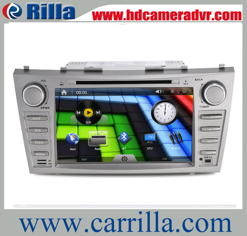 8 inch touch screen dvd for Toyota Camry+GPS+Radio/RDS+Buletooth+1080p HD video+Steering wheel control+TF card/USB Port 8611(China (Mainland))