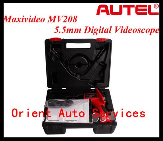 Autel MV208 5.5 мм инспекции камеры автомобиля диагностический цифровой бороскоп видеоскоп
