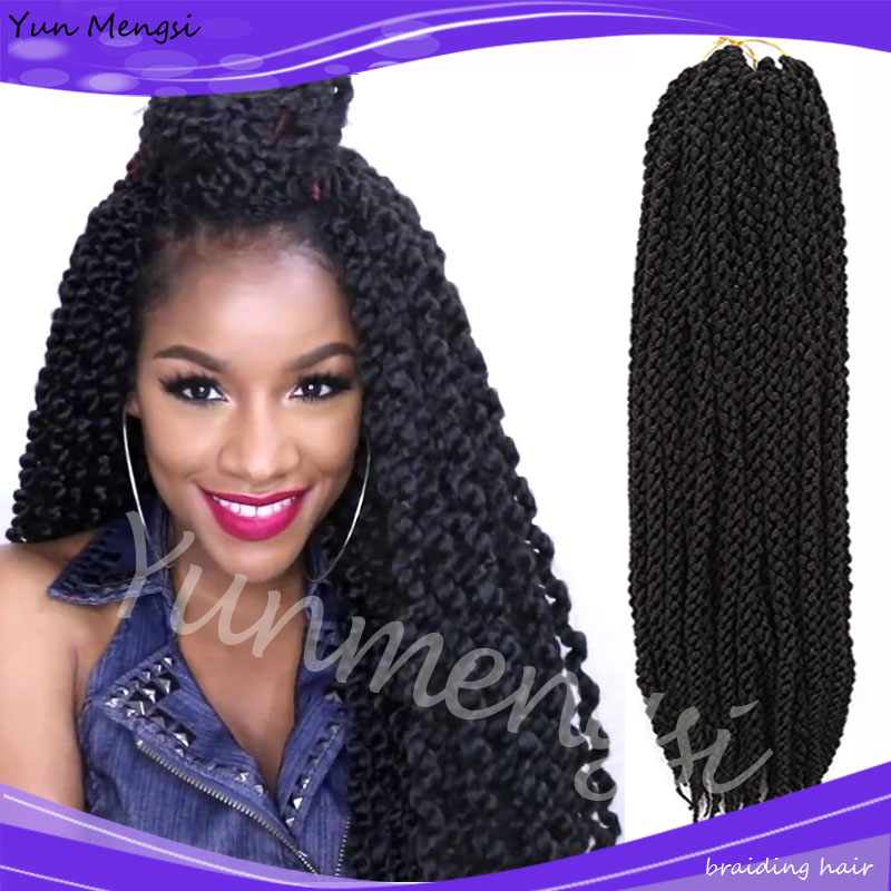 Crochet Hair Wholesale : Cubic Twist Crochet Braids Hair Extensions Ombre Braiding Crochet Hair ...