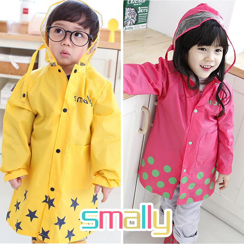Kids Rain Coat 90-115CM Cartoon children Raincoat Rainwear/Rainsuit,Kids Waterproof Animal Raincoat(China (Mainland))
