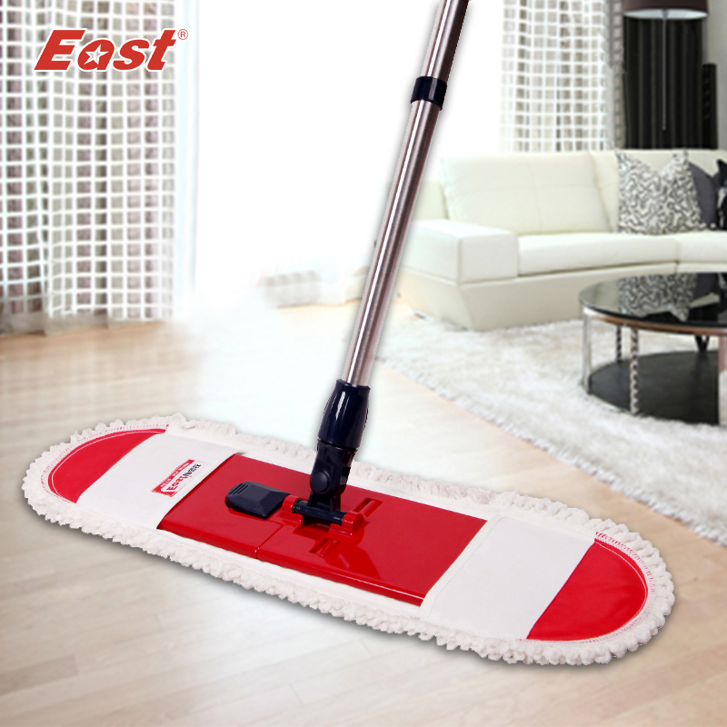 EAST Cleaning tools floor telescopic rotation mop with pole cotton cloth towel for home floor kitchen living room cleaning(China (Mainland))