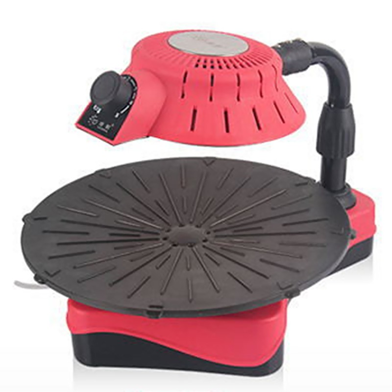 No-smoking BBQ Grill Portable Adjustable Height Infrared Electric Oven Non-stick Surface Easy Clean Barbecue Grill(China (Mainland))