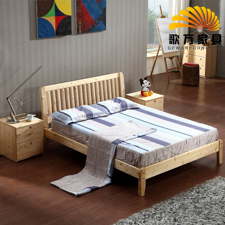 song wan import finnish girl princess pine wood crib teen boy twin bed wholesale in beds from. Black Bedroom Furniture Sets. Home Design Ideas