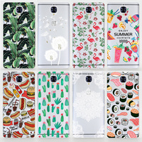 TPU Soft Case For OnePlus Three Colored Drawing Ultra-Thin Silicone TPU Phone Cover For OnePlus 3 One Plus 3