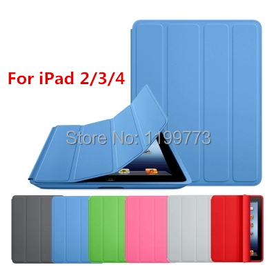 Replacement Smart Case For Apple iPad 4 iPad3 iPad 2 Case 1:1 Original Design Stand funda Leather Case For iPad 2 3 4 Case Cover(China (Mainland))