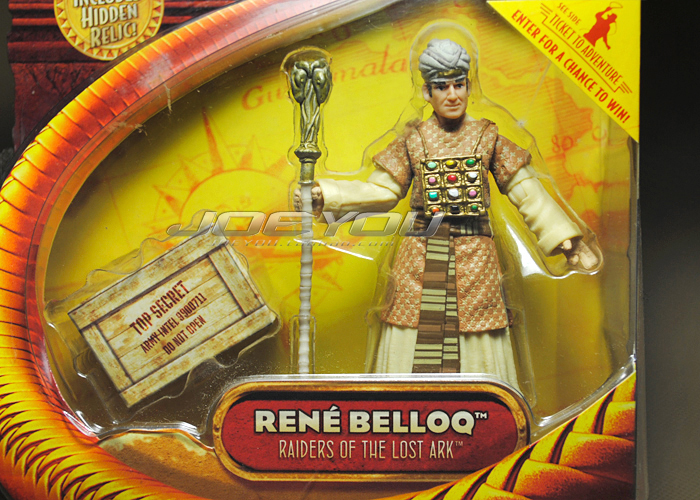 Limited! 10CM High Classic Toy Raiders of the Lost Ark Indiana Jones Pharaoh loaded Belloc action figure Toys(China (Mainland))