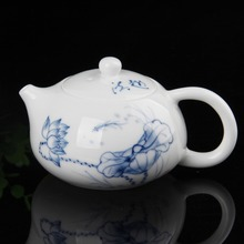 High quality hand painted blue and white porcelain teapot Tea set 180ML 1pcs