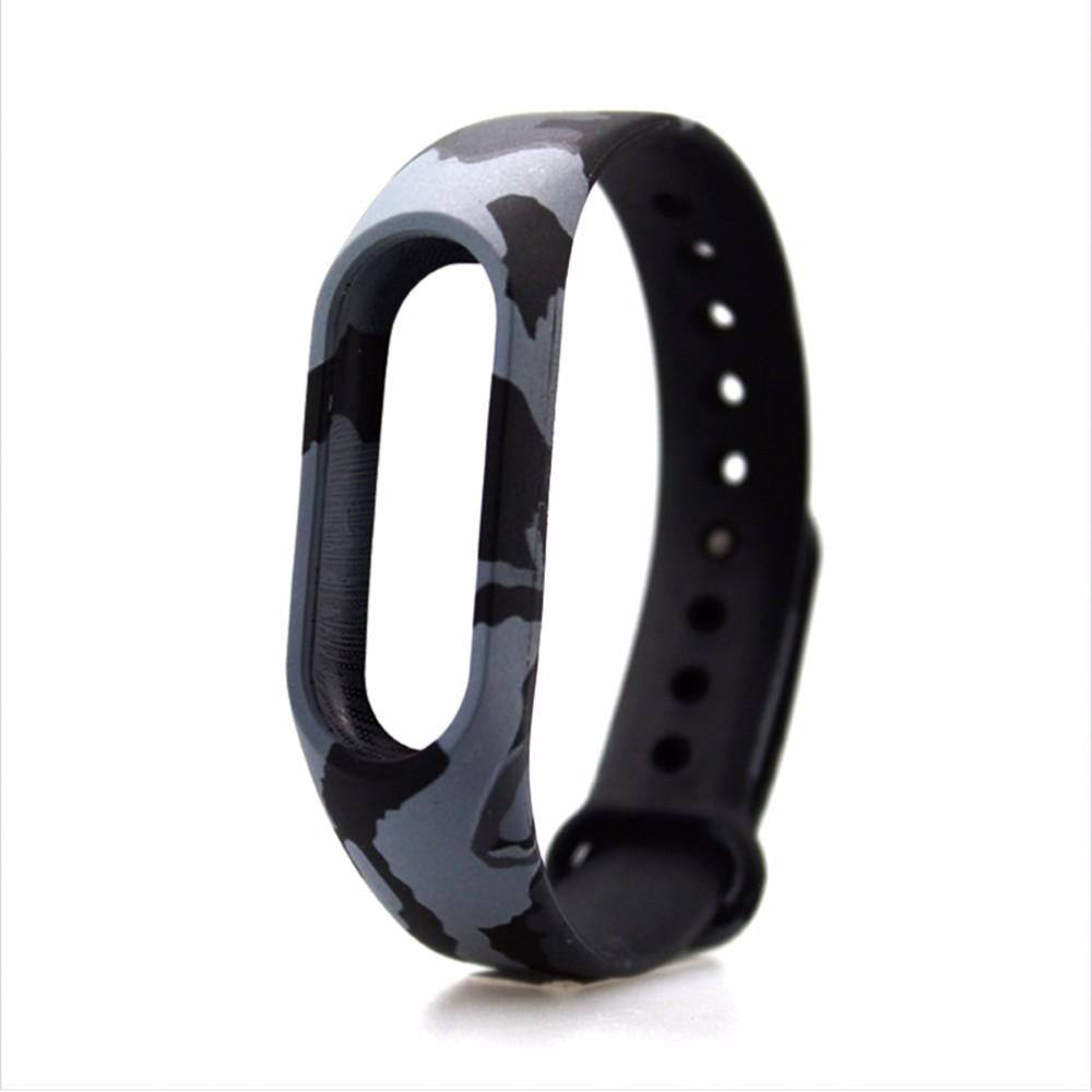 image for Xiaomi Mi Band 2 Wristband Silicone Strap Smart Band Accessorie For Fi