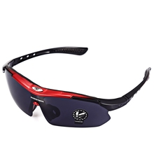 Buy Robesbon 0089 1 Non-polarized Sports Running Outdoor Cycling Glasses UV400 Sunglasses Eyewear EMS-TR90 Frame Anti-UV for $5.54 in AliExpress store