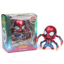3 estilo Superhero Spiderman Homem De Ferro Action Figure 2019 Hot Filme O Infinito Guerra Coleção Brinquedos Boneca para As Crianças de Natal presente(China)