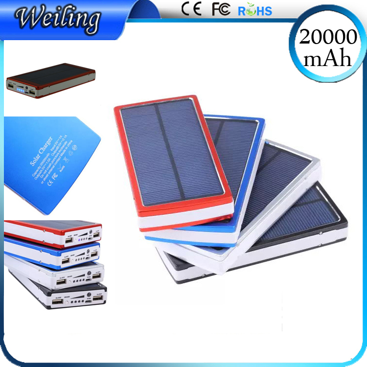 Solar Quality Reliable Power Bank 20000mah Quality Reliable Power Bank supplier for iphone/smartphone /ipad/camera(China (Mainland))
