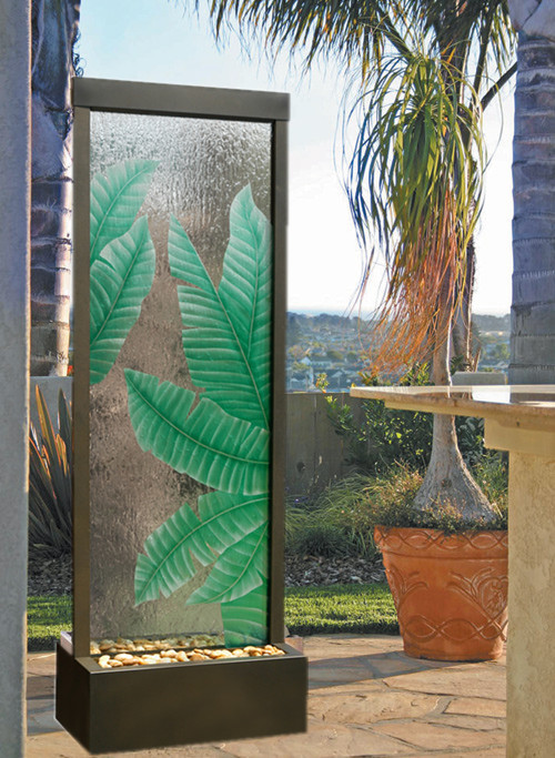 fasionable countryside water fountain/water curtain screen/separating humidifier decoration