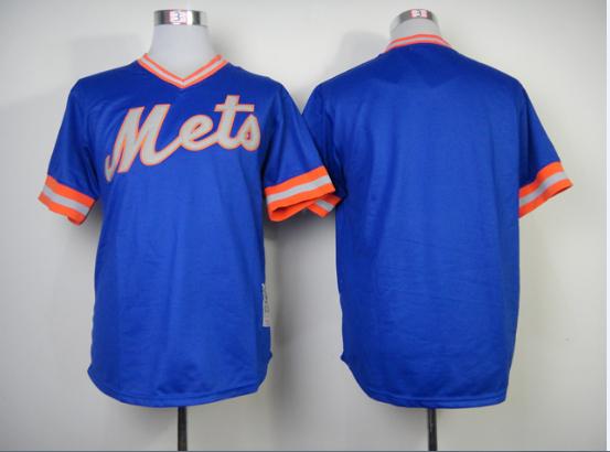 stitched men's baseball jersey new york mets blank blue/grey/white Baseball Jerseys /shirt Embroidery logos - Liberty square store