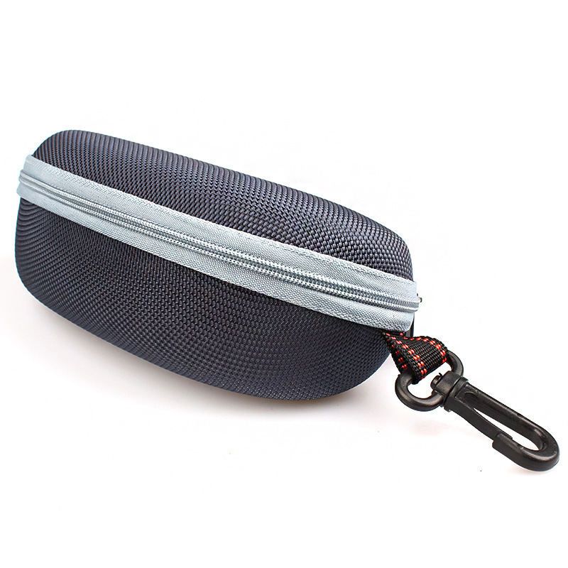 Big Universal Upgrade Zipper Hook Sunglasses Box Compression Glasses Case Eyewear Bags Accessories