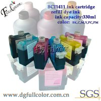 Free shipping 6pcs a lot compatible canon BCI1411 ink cartridge FOR W7200 W8200 W8400 wide format printing