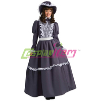 Custom made Adult Forum Novelties Women's Prairie Lady Costume Victorian Medieval Costume