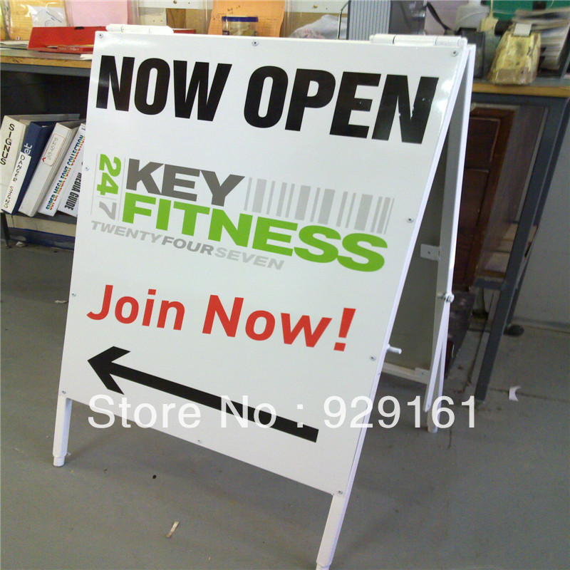 Poster A Board ,double side poster stand, A-Board double(China (Mainland))