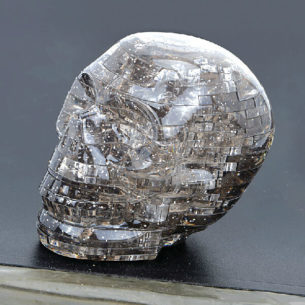 Newly Design DIY Funny Skull Crystal 3D Crystal Puzzle Best Baby Learning Toys,New Years Gift,Free Shipping(China (Mainland))