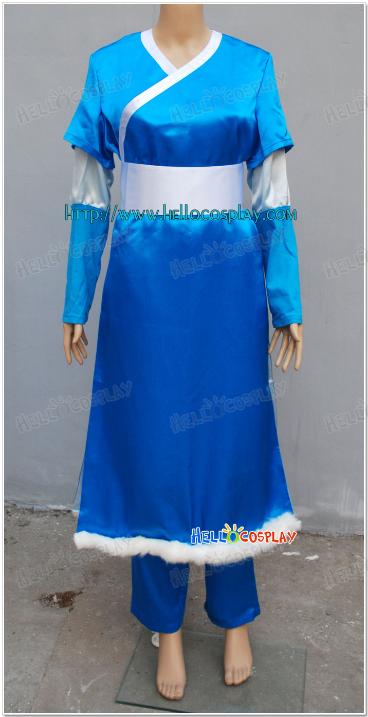 Katara Cosplay Costume From Avatar : The Last Airbender H008