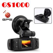 by dhl or ems 20 pieces Car DVR Ambarella CPU Full HD1920*1080P 30FPS built-in GPS G-sensor and H.264 Codec Car black box GS1000(China (Mainland))