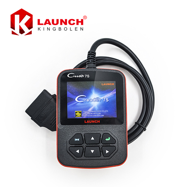 2017 New Arrival Original Launch X431 Creader VII Plus Code Reader +Oil Reset Function Creader 7S Update Via Official Website