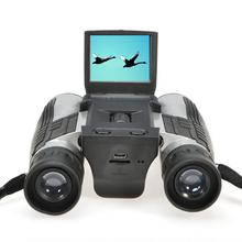 2015 720P 2.0 inch LCD Display 12X Zoom Lens Digital Binoculars Built-in Telescope Video digital Camera ultra long range camera