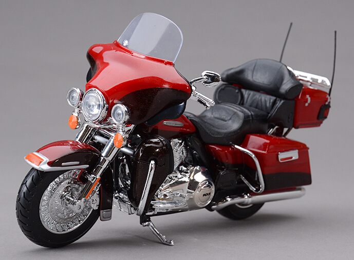 Authentic original factory 1:12 2013 classic Glide Street alloy motorcycle model diecast motor models collection(China (Mainland))