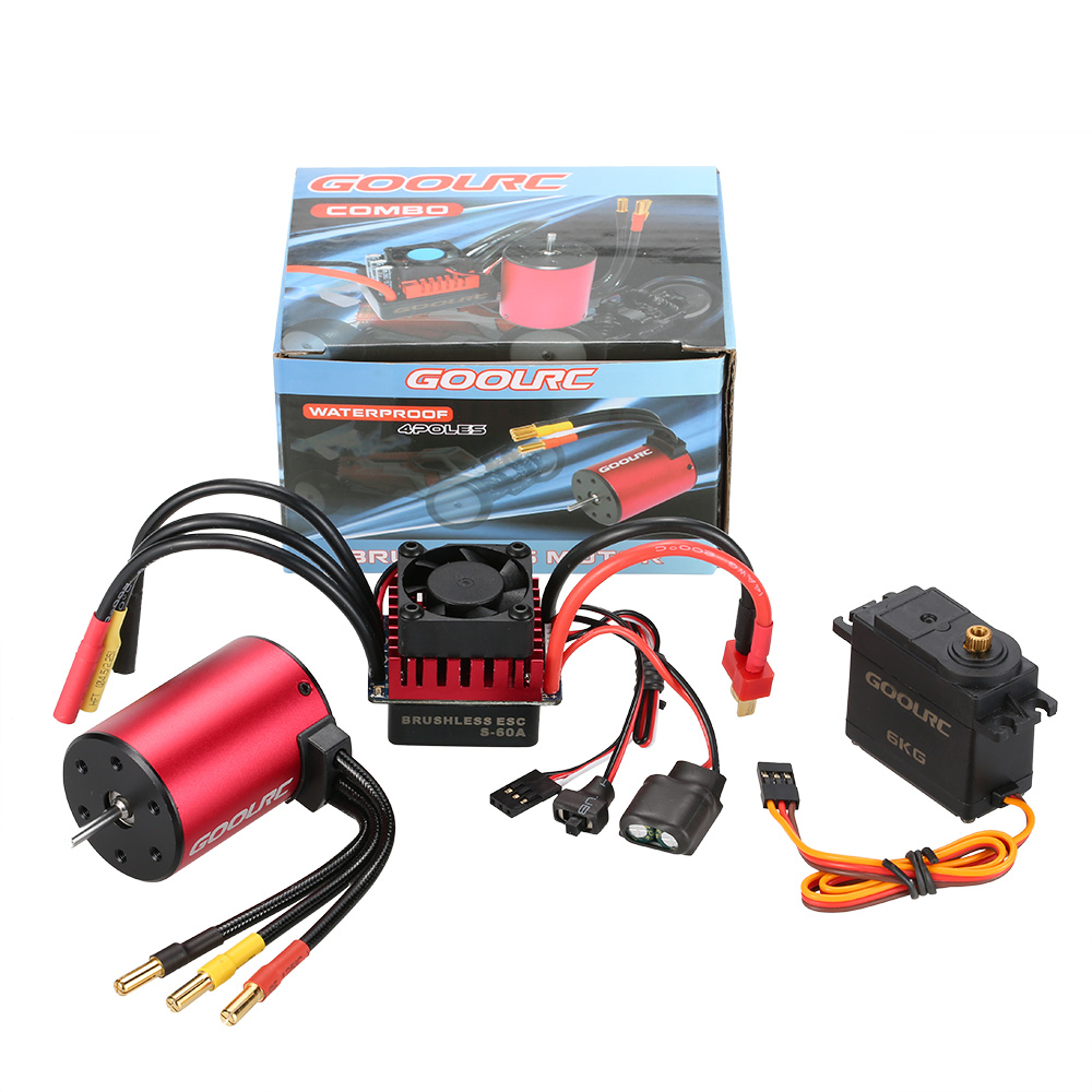 how to choose a brushless motor for rc truck