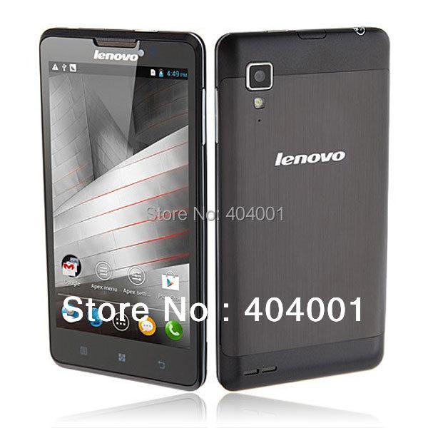 4000mah Lenovo p780 mtk6589 Quad Core Phone 5.0 HD IPS Screen 8MP Android 4.4 Phone WIFI bluetooth Russian free shipping LN(China (Mainland))