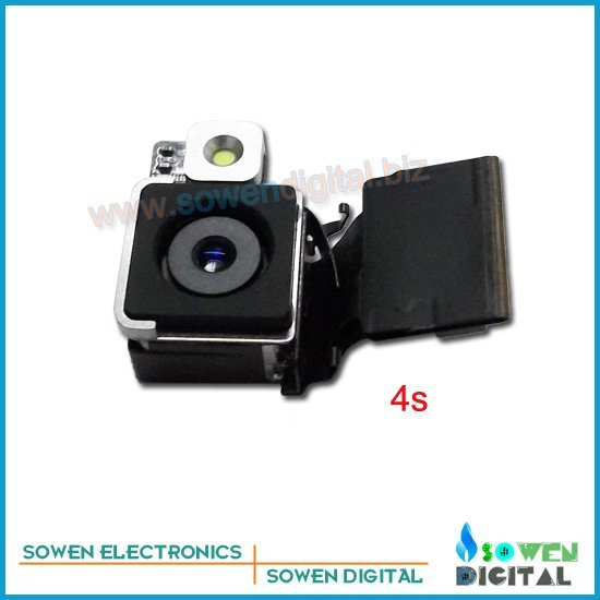 Rear camera for iphone 4s Camera module,free shipping ,100% quality guarantee