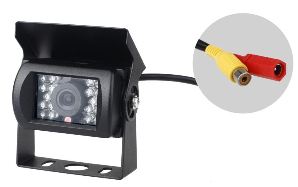 Free Shipping E629 Waterproof 18 LED Night Vision Backup Rear View Carmera For Car Bus Truck Van DC 12V(China (Mainland))