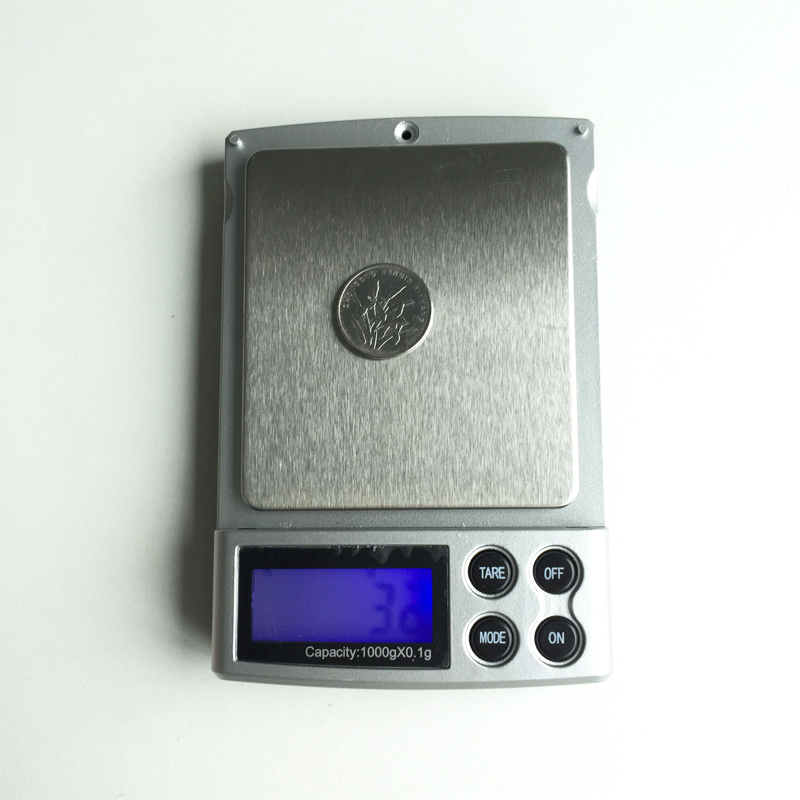 Гаджет  1000g x 0.1g LCD Display scale Mini Electronic Digital Jewelry Pocket Scale Balance Weight Weighing Scale g/ oz/ ct/ ozt/ dwt None Инструменты