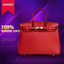 JONON Women Famous Designer Bag Messenger Bags Genuine Leather Handbags Padlock Scarf Famous Brand Bags Totes Messenger Clutch(China (Mainland))