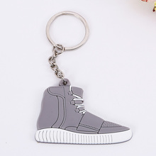 1 Dozen =6 Key Chain Yeezy Shoes Keychain Shoes Key Rings Cute Sneaker Keychain Silicone Key Holder Yeezy Keychain(China (Mainland))