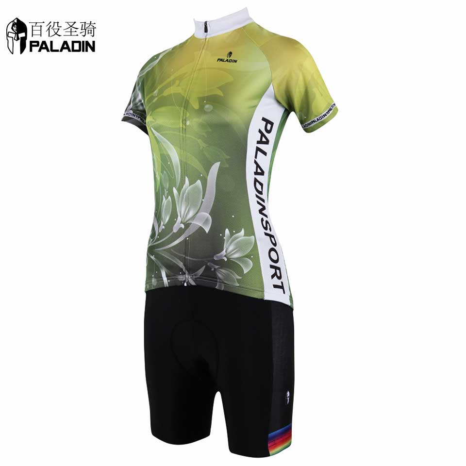 Women Sport Suit Short Sleeve MTB Cycling Jersey Sets Breathable High Quality PALADINsports Lily Series<br><br>Aliexpress