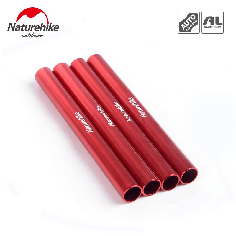NatureHike 4 pcs aluminum alloy tent pole repair tube single rod mending pipe lengthen13cm suitable tent accessories(China (Mainland))