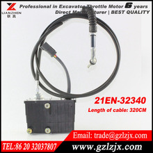 R-9 R220 excavator throttle motor for Hyundai Accel Actuator excavator stepper motor 21EN-32340 32340