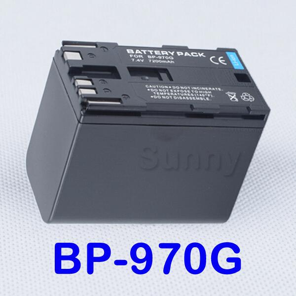 BP-970G Battery Pack for Canon GL1, GL2, XH A1, A1S, XH G1, G1S, XF300, XF305, XL H1, H1A, XL H1S, XL1, XL1S, XL2 Camcorder(China (Mainland))