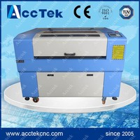 co2 laser cutting balsa wood machine 6090,stepper system ,80w glass laser tube
