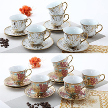 Ceramic ceramic mug cup set Coffee European Cup 160ml cup of tea Coffee trumpet
