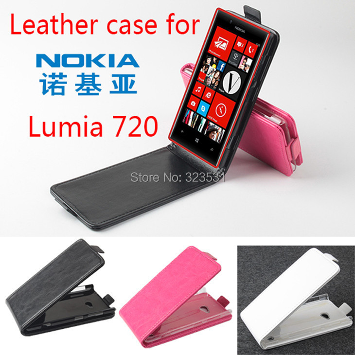 !! Hot Selling Original Multi-Colors Flip Cover Leather Case 4.3 inch NOKIA Lumia 720 Smartphone - ABest Mall store